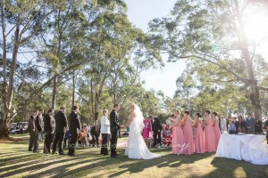 Hawkesbury wedding ceremony